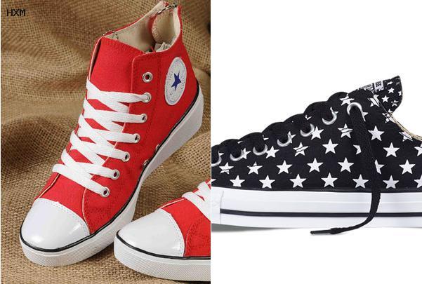 converse bandiera americana alte
