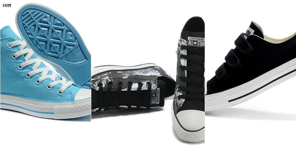 equivalencias calzado converse