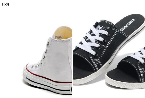 moda de zapatos converse