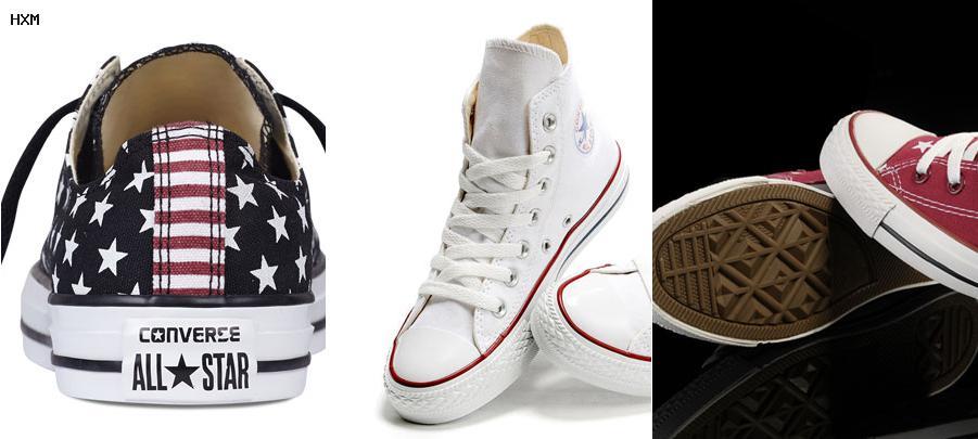 modelos de zapatillas converse mujer