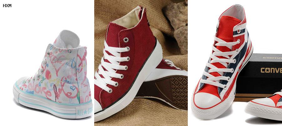 remeras converse all star mujer