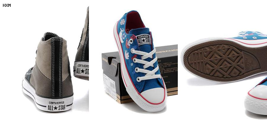 tenis converse all star transparentes