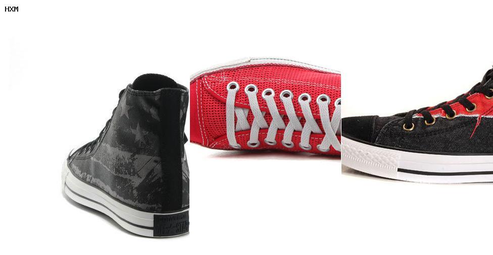 venta de zapatillas converse rojas