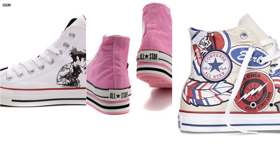 zapatillas all star converse sin cordones