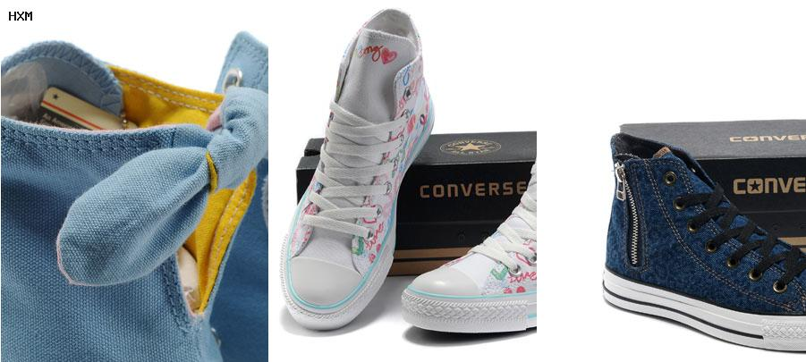 zapatillas converse all star plateadas