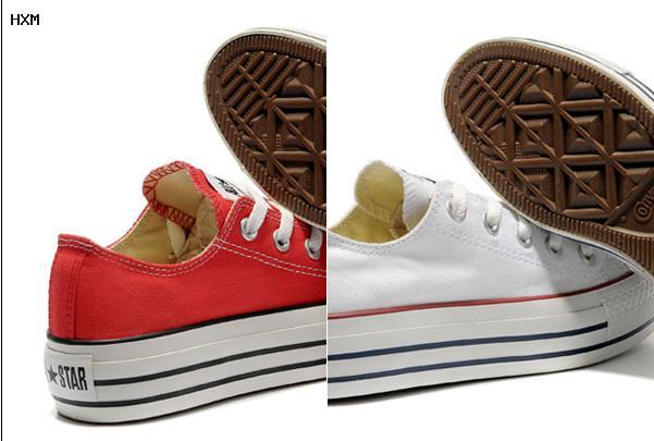 zapatillas converse botitas con plataforma