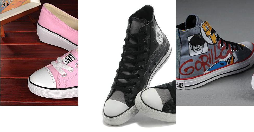 zapatillas converse mujer online