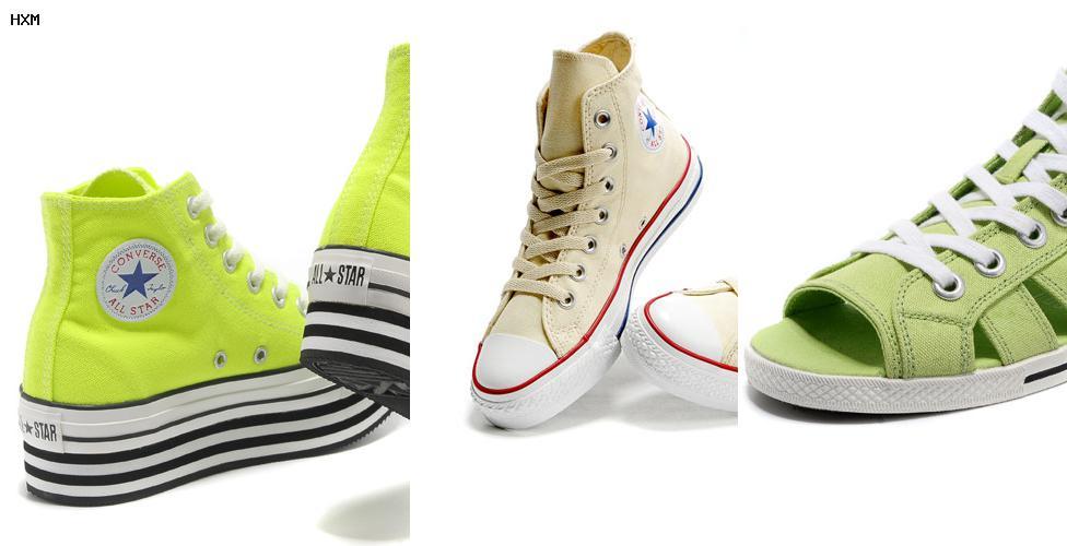 zapatillas de casa estilo converse